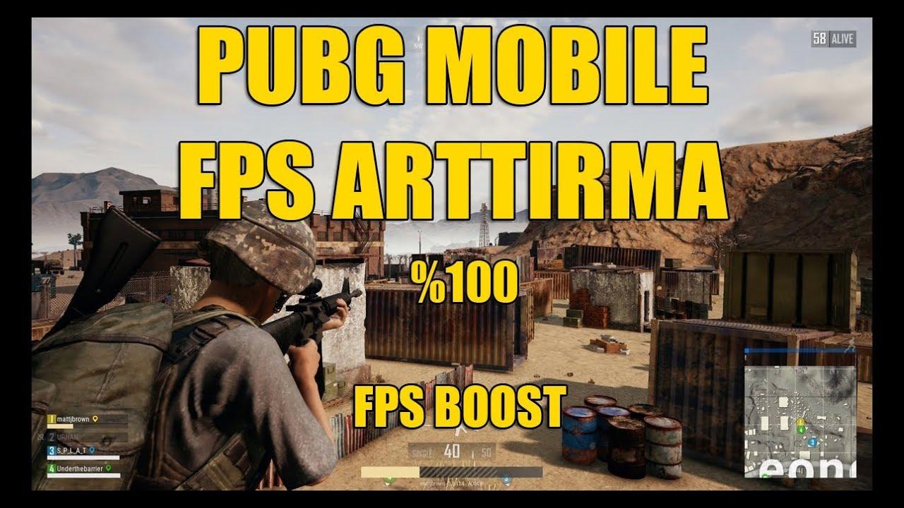 PUBG Mobile - FPS ARTTIRMA - EN STABIL GRAFİK AYARLARI - 60 FPS - FPS BOOST