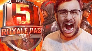 PUBG MOBILE / PC LIVE: SEASON 5 UPDATE IS HERE! NEW ROYAL PASS