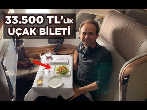 33.500 TL'lik Uçak Biletim : Efsane Singapur Hava Yolları Business Class İncelemesi (5.500 Dolar)