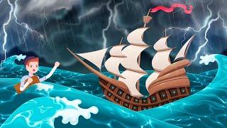 Он заметил 2 моряков, пострадавших от метели, и чуть не замерз, спасая их