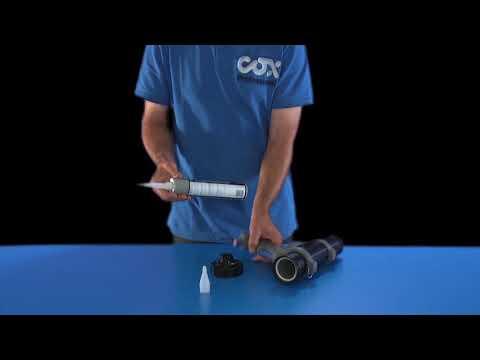 COX™ JetFlow 3 Adhesive & Sealant Spray Dispenser - user guide