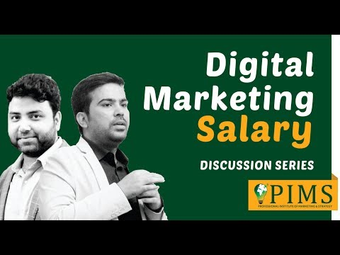 Digital Marketing Salary - What Can You Expect In Careers | PIMS
