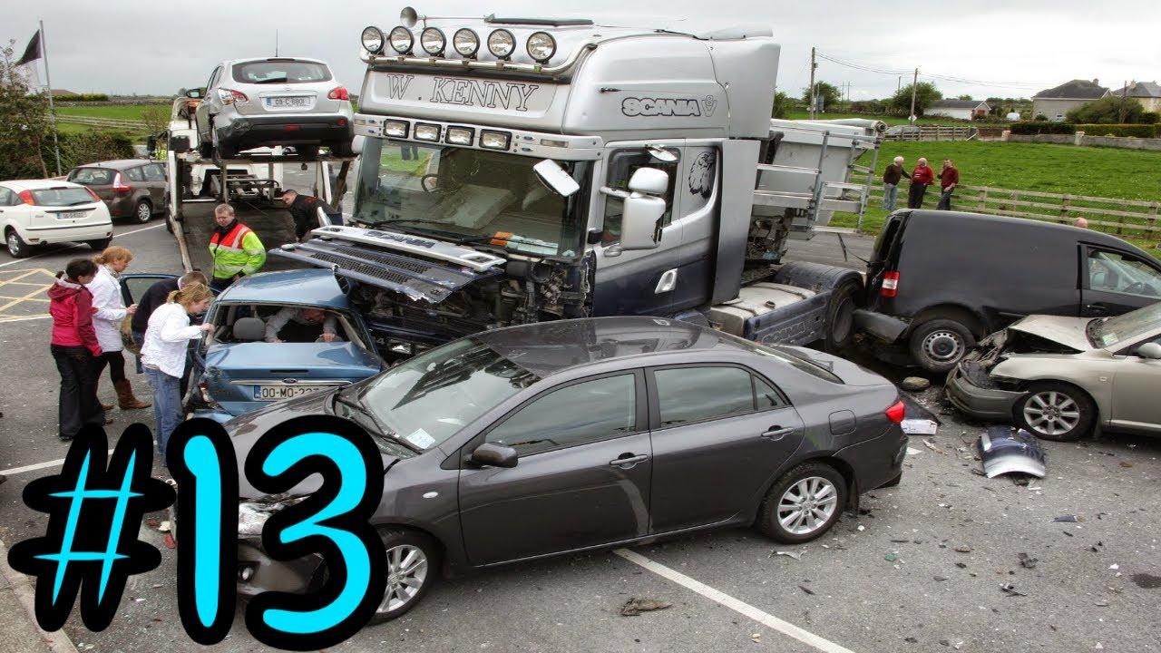 Best Car Crash Compilation USA / RUSSIA #13