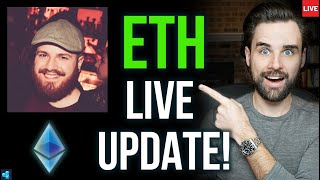 🔴LIVE: Things Are About To Change For Ethereum (feat Anthony Sassano)