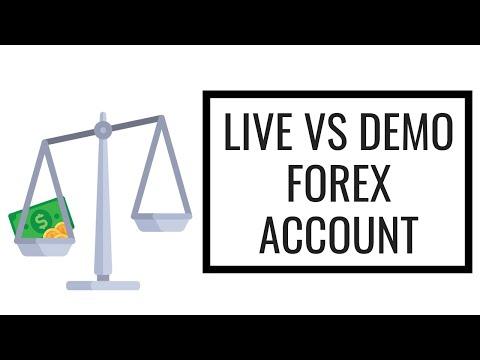 Live vs Demo Forex Account