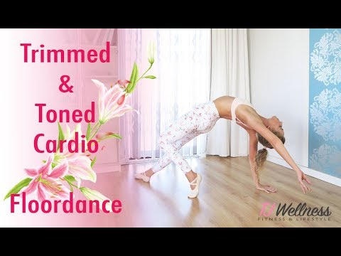 Trimmed And Toned Cardio Floordance Balletlates Ballet Workout Pilates Workout Yoga Youtube