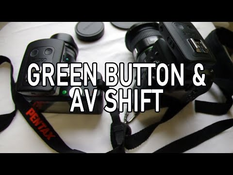 Camera Settings: Manual with Green Button and Av Shift