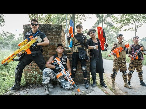LTT Nerf War : Special Mission SEAL X Warriors Nerf Guns Fight Dr.Lee Crazy Crossfire In Sight
