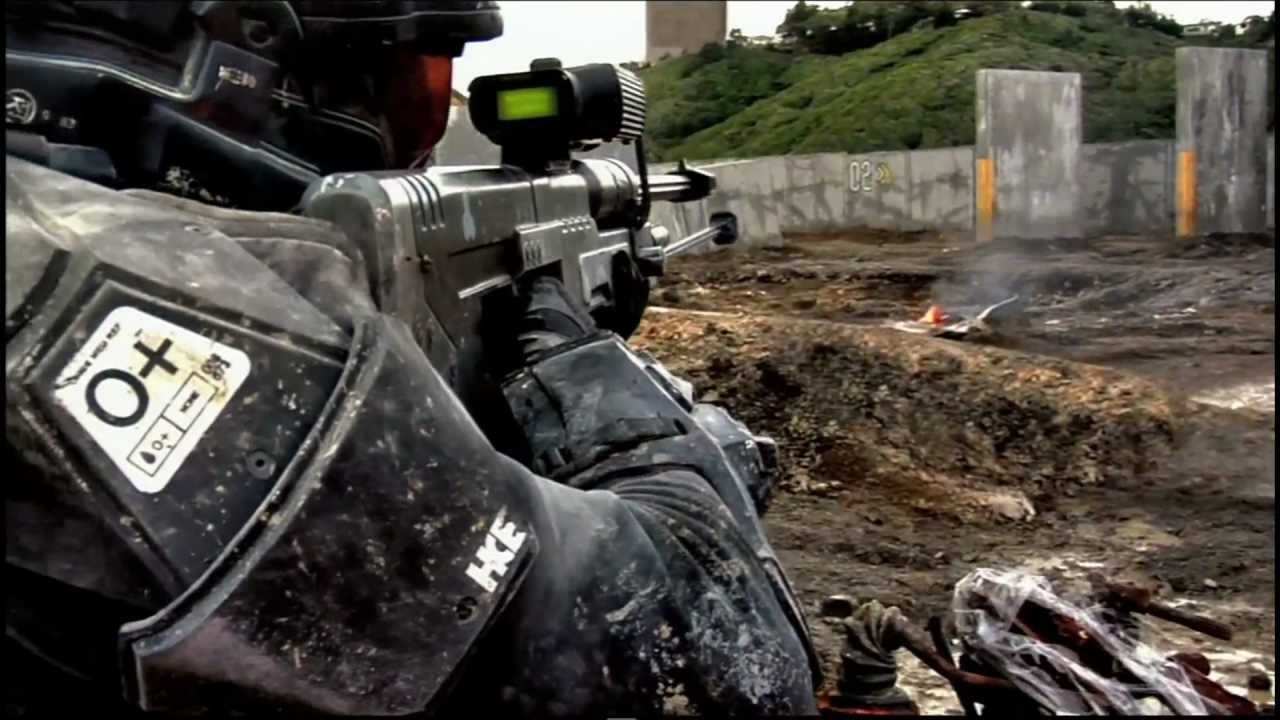 Halo 3 Halo Landfall Trailer Trejler Hd 1080p Live Action