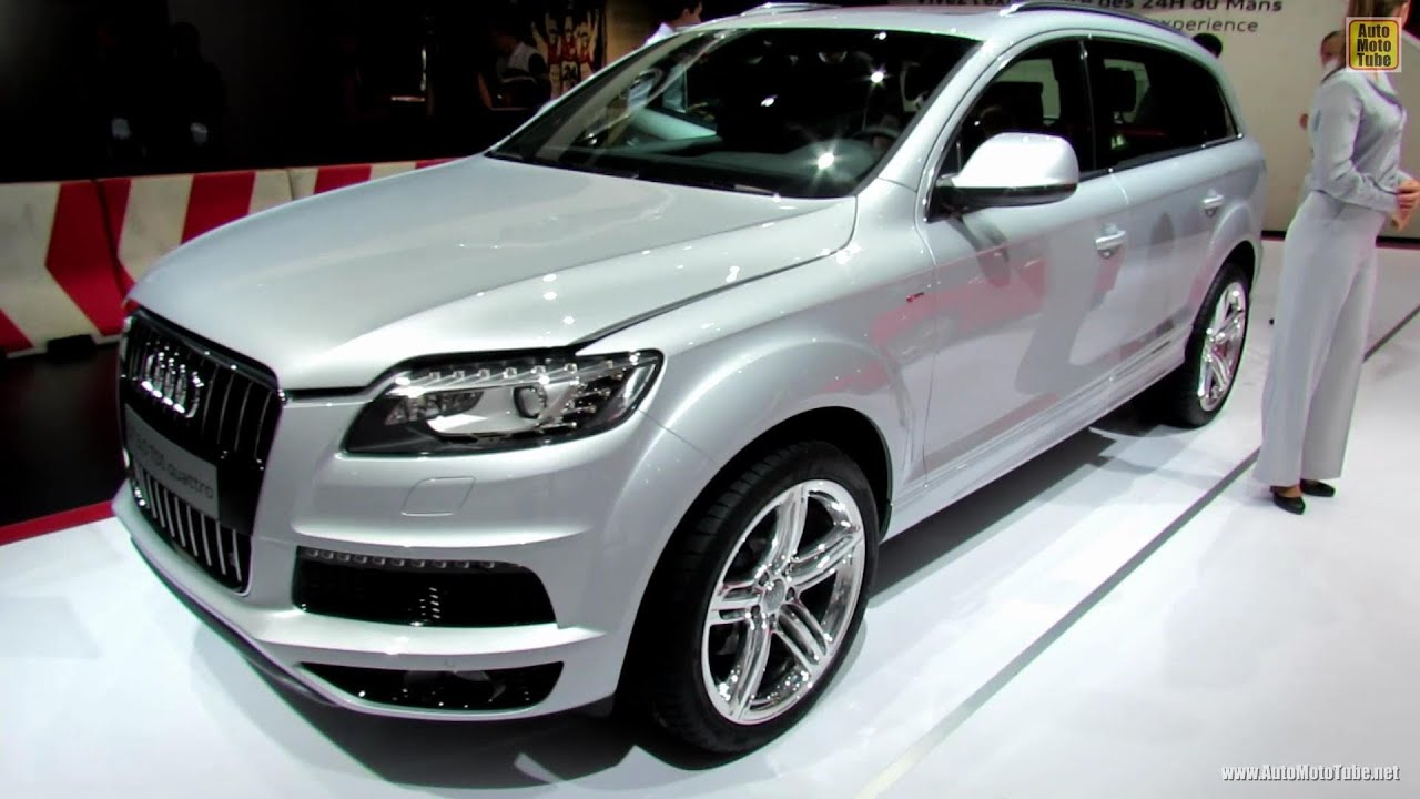 2012 audi q7 tdi quattro s line exterior and interior. Black Bedroom Furniture Sets. Home Design Ideas