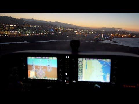 Dream VFR clearance Class Bravo Low Level over SFO International + Dusk Bay Tour - 172 G1000