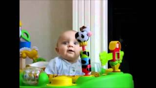 Baby Scared By Mother Blowing Her Nose