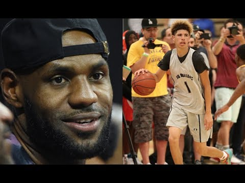 LeBron James BANNED From Watching LaMelo Ball vs Zion Williamson Game!