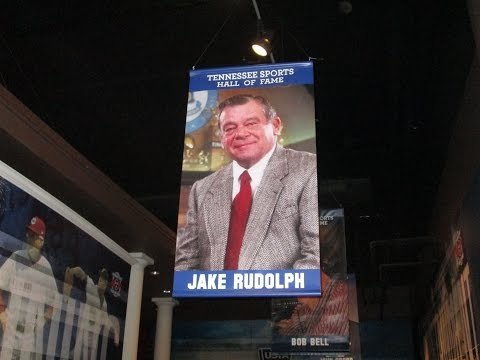 Coach Jake Rudolph Tennessee Sports Hall of Fame 2015