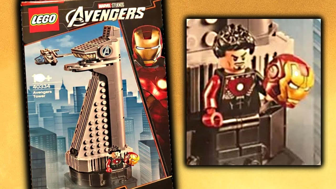 LEGO Super Heroes Avengers Tower Promo Set 40334