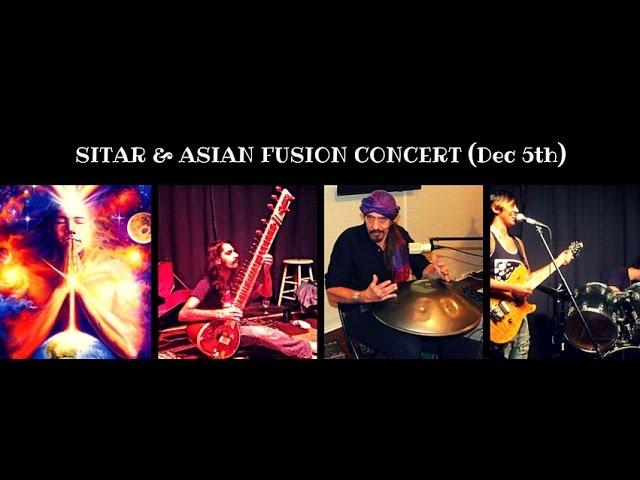 Sitar and Asian Fusion Concert at Healium Center