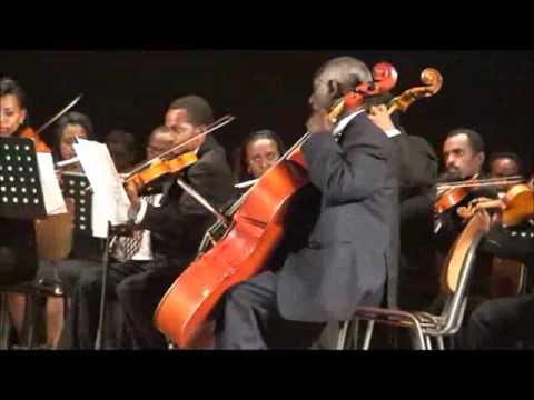 Ethio Spanish Classical Music Concert, Ritual Fire Dance.flv