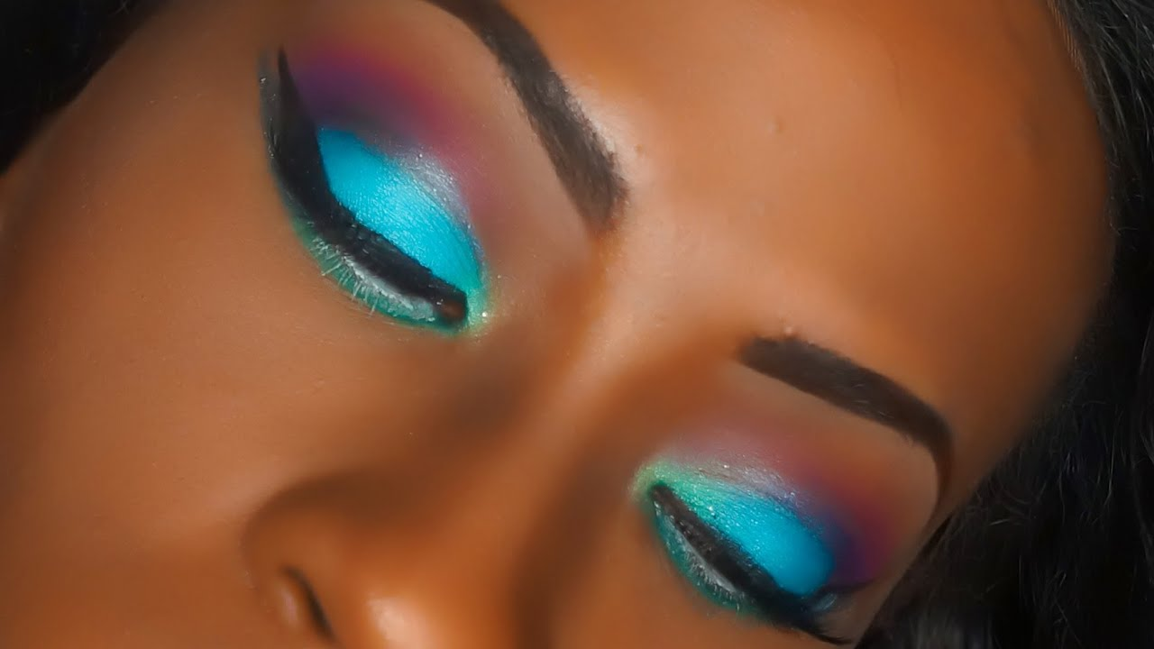 blue and pink eye makeup tutorial makeup vidalondon