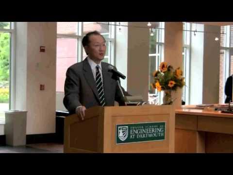 President Kim Visits Thayer School