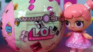 LOL Surprise - Kule Niespodzianki z minilaleczkami - Unboxing
