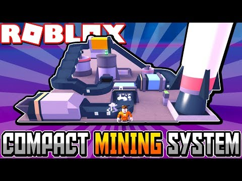Building a *COMPACT* Mining System in Roblox Space Mining Tycoon! #3