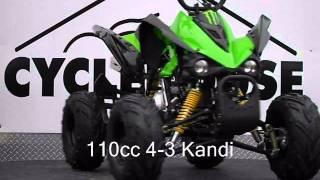 110cc 4-3 Kandi New Youth ATVs NJ KIDS QUADS