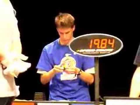 Rubik's World Championship 2007 - Balázs...