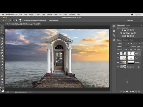 CGI Photoshop Tutorials HD: Photoshop Add A Central Element