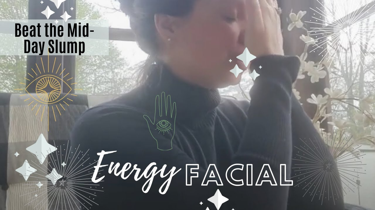 🥱MID-DAY SLUMP REBOOT!🤩 Energy Facial
