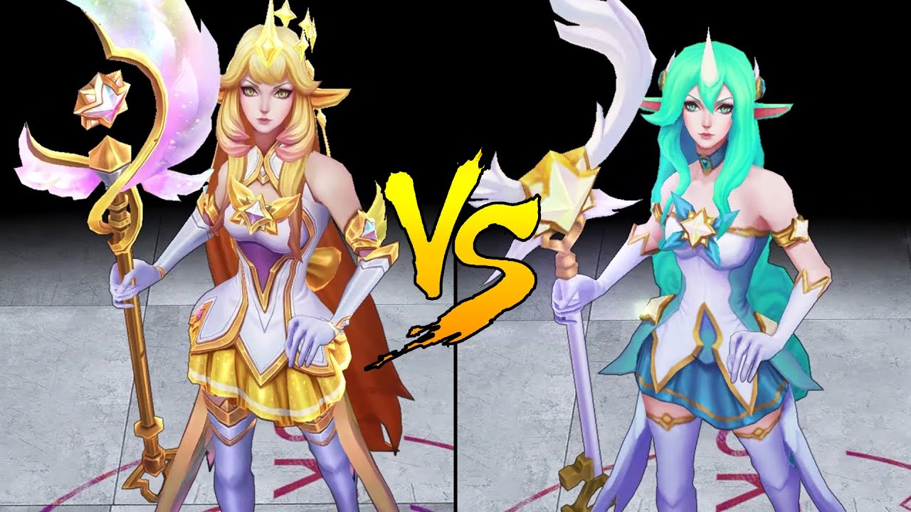 Prestige Star Guardian Soraka Vs Star Guardian Soraka Skin Comparison Spotlight League Of Legends Youtube