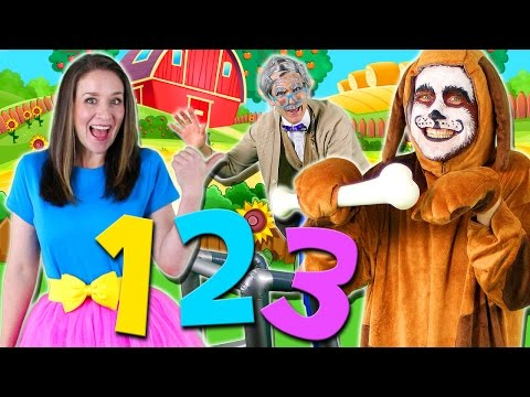 This Old Man Nursery Rhyme for Kids | Learn to Count from 1
