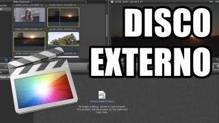 Final Cut Pro X - #29: Logística y discos externos