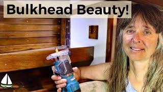 Bulkhead Rebuild - Bulkhead Repair on an Old Sailboat (Patrick Childress Sailing #54)