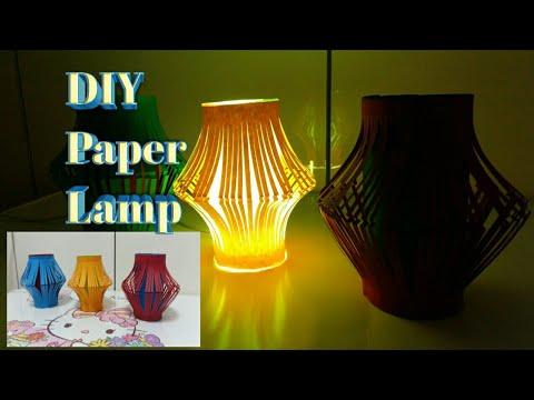 DIY Decoration Lemp Idea : Learn to Fold Paper Lantern , 종이 접기 용지 , Paper Craft