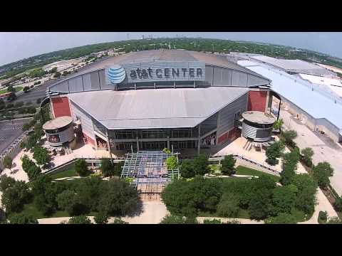 Drone Shots of the AT&T Center