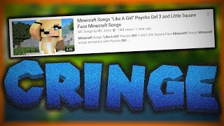 The WORST Minecraft Video On YouTube | Psycho Girl