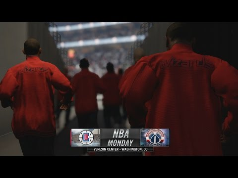 NBA Live 16 Demo: Los Angeles Clippers at Washington Wizards