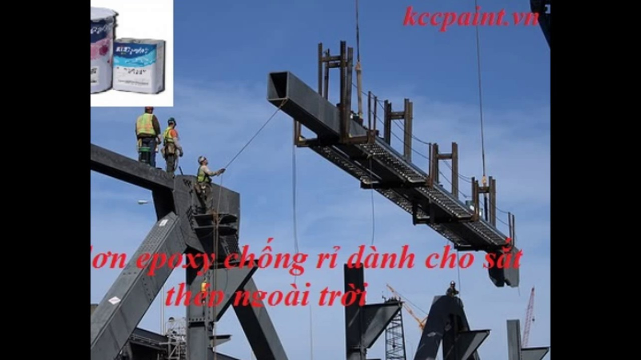 Mua sơn chống ăn mòn sắt thép, kim loại, hóa chất, axít tại Hà Nội giá rẻ nhất