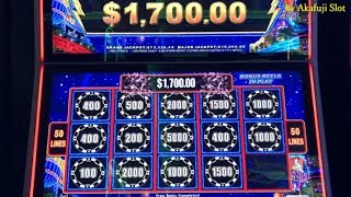 I continued to played only one machine★Final !! JACKPOT x 3 Times★HIGH STAKES - Bet $10 San Manuel