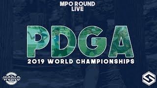 2019 PDGA World Championships - Live - MPO Round 4 BONUS - McBeth, Keith, Conrad, Jones