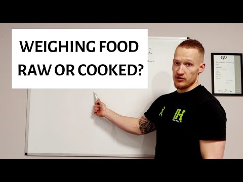 Should You Weigh Food Raw Or Cooked?