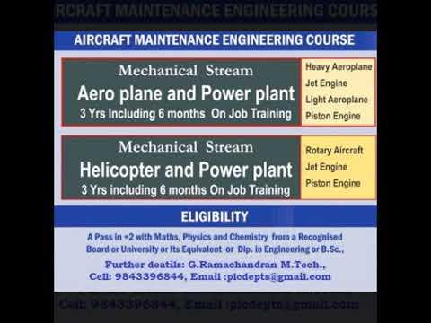 B.Tech Aeronautical Engineering college in Tamilnadu @ Low Package # No Donations