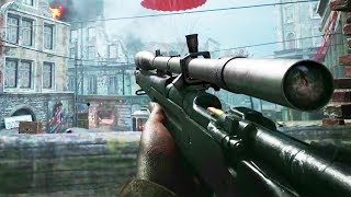 NEW OFFICIAL CALL OF DUTY: WW2 BETA GAMEPLAY! (COD WW2 BETA))