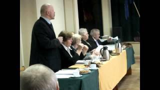 Jeziorany, sesja Rady Miejskiej 27 listopada 2013   interpelacje i wnioski radnych cz II
