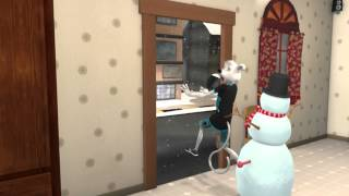 9XM Wishes you A Merry Christmas!! | Snowman