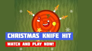 Christmas Knife Hit · Game · Gameplay