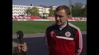 Відео інтерв`ю Сімініна перед грою із Металістом, 23.04.2014