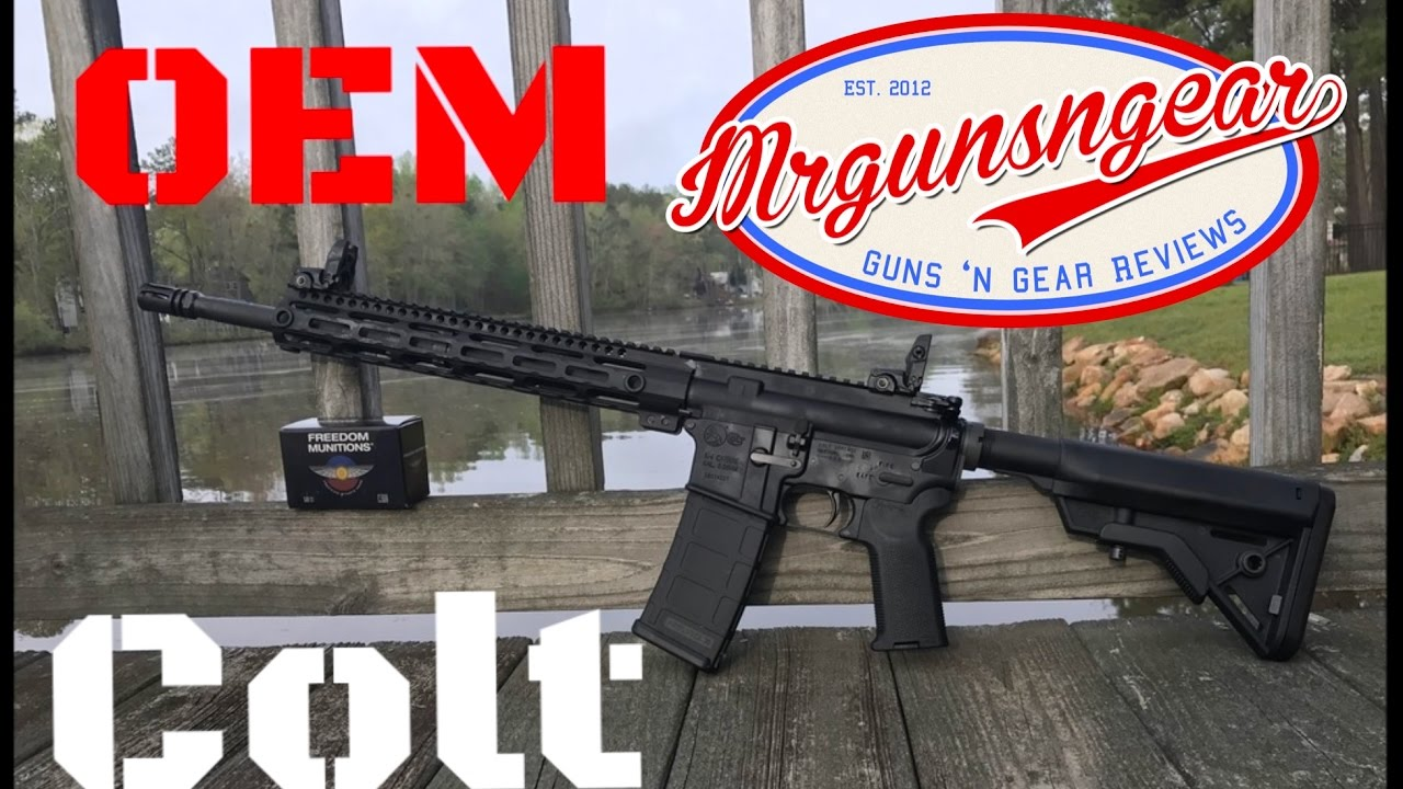 Completing A Colt Le6920 Oem 2 Ar 15 Rifle Hd Youtube