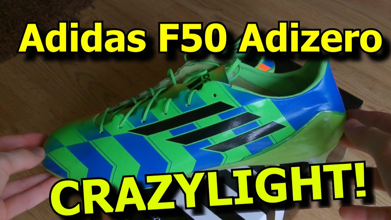97785bace2af BRAND NEW CRAZYLIGHT Adidas F50 Adizero Unboxing! - Gareth Bale   James  Rodriguez boots 2014