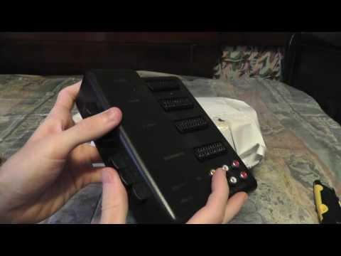 Unboxing and Testing Coosis SCART & S-Video to HDMI Converter
